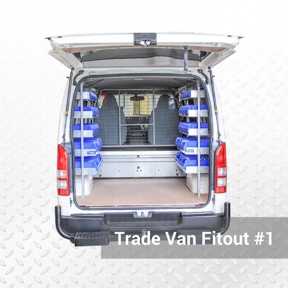 Trade Van Fitout #1