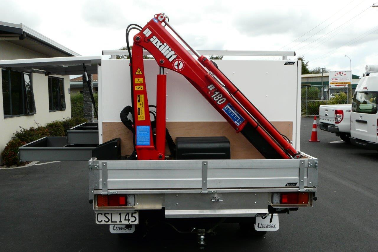 Compact Hydraulic Cranes Quicklift Camco Industries Ltd