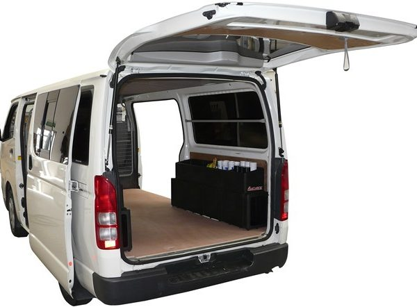Camco - Archboxes in a Toyota Hiace - Van