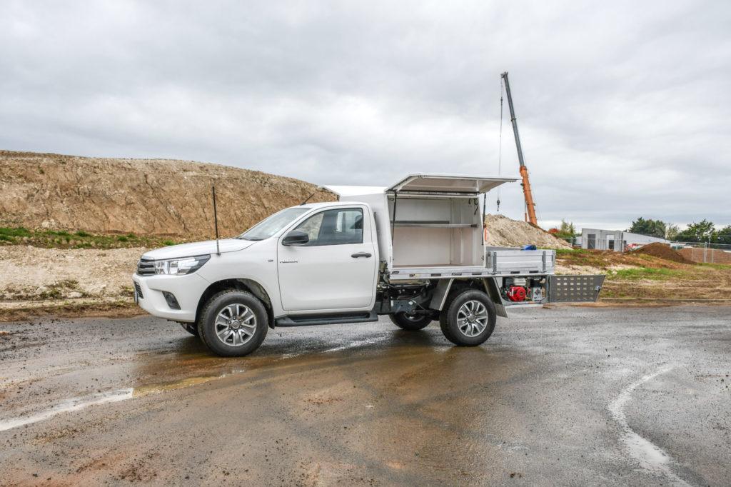 Toyota Hilux Service Body Fitout